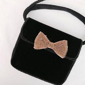 The Vintage Velvet Bow Bag